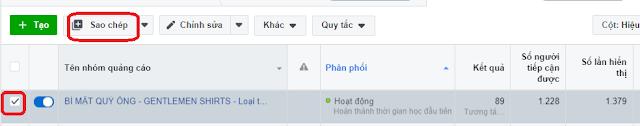Cách Tạo Nhanh Quảng Cáo Facebook Bằng Chức Năng Copy 4