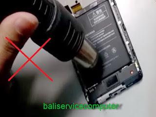 ganti baterai Xiaomi redmi 3 4