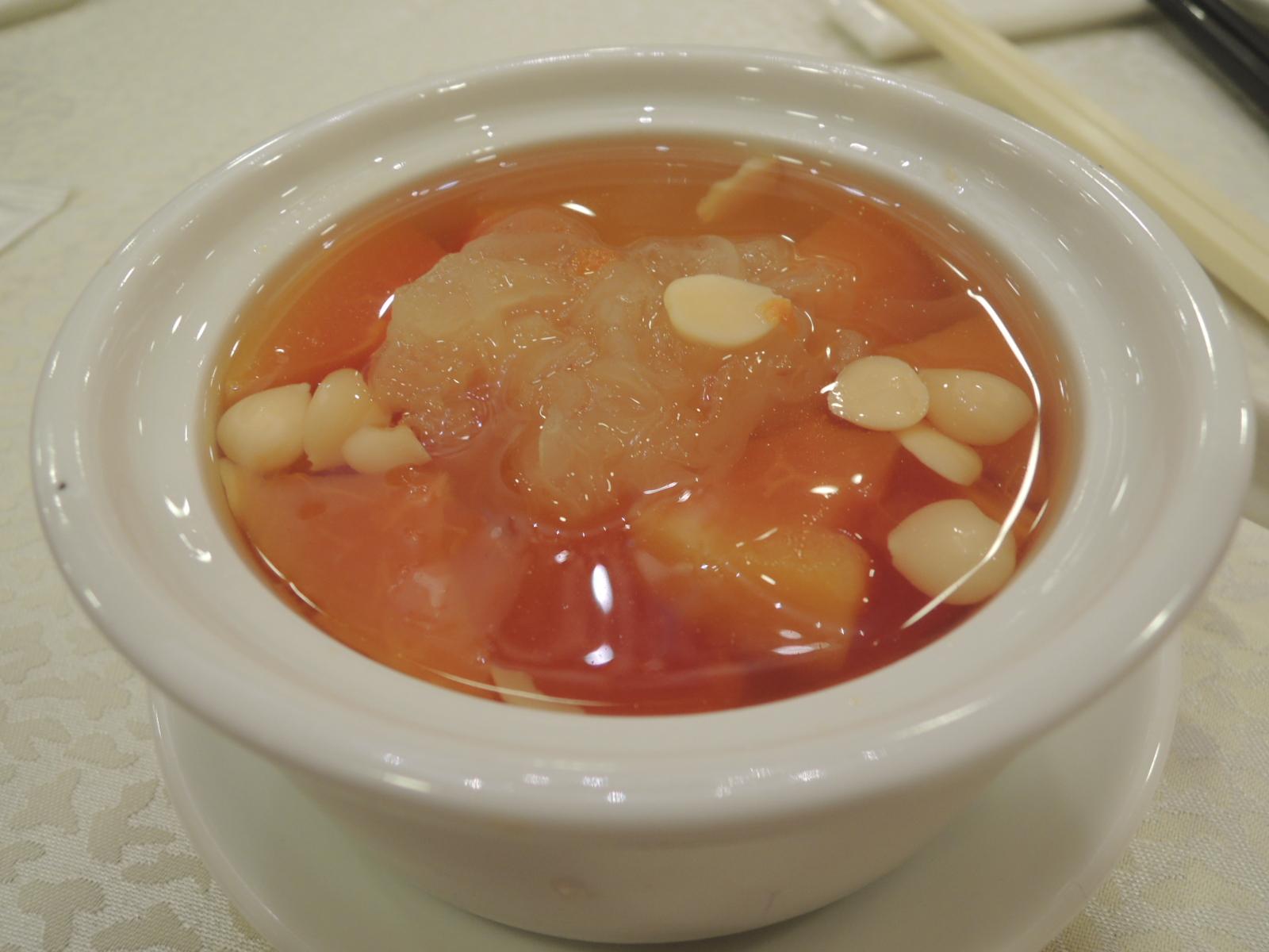 余江強: 中華麗宮一菜兩吃宮廷宴