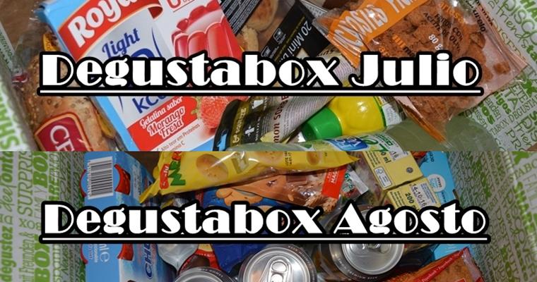 Degustabox | Julio y Agosto 16 | Colaboraci�n