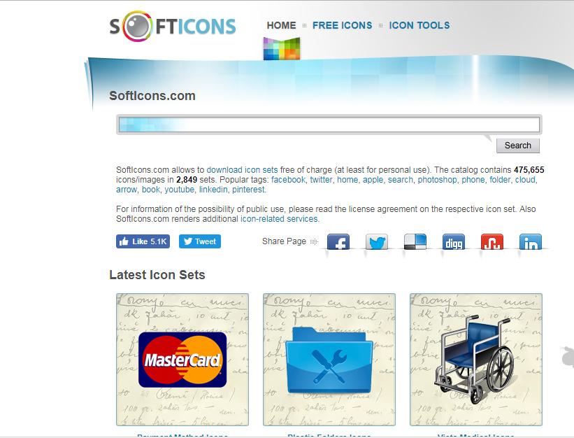 موقع سوفت ايقونة softicons