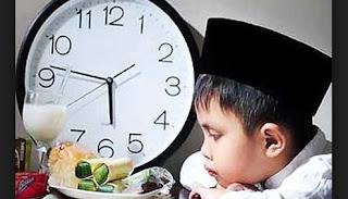 Tips dan cara melatih anak kecil agar kuat puasa 1 hari penuh