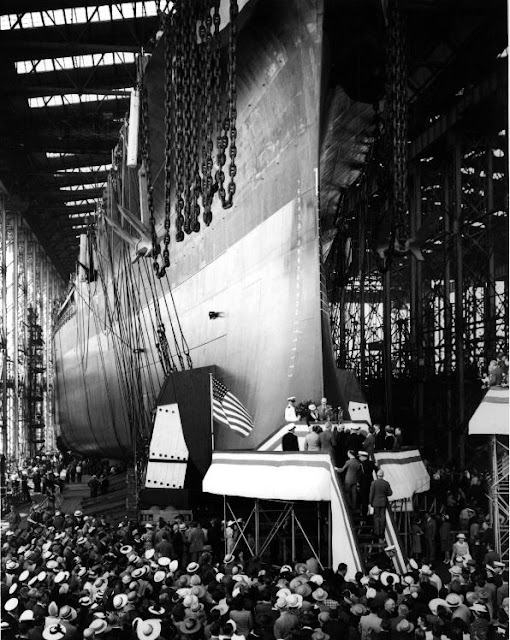 USS South Dakota Christening worldwartwo.filminspector.com