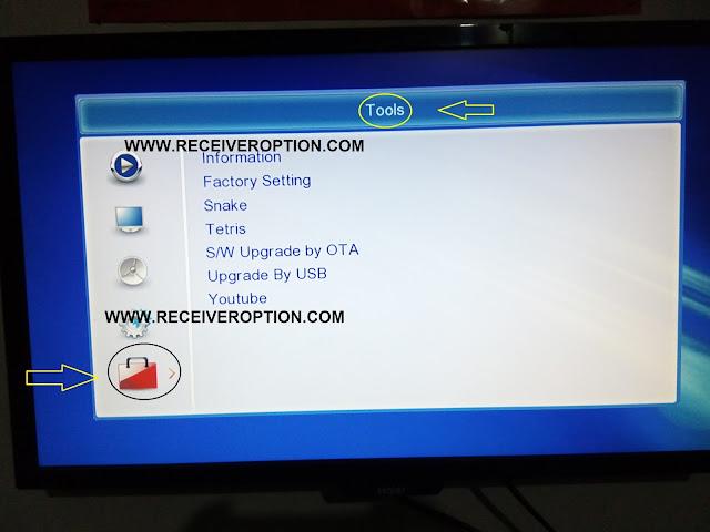 NEOSET 15000 HD RECEIVER BISS KEY OPTION