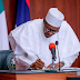 Buhari Finally Signs N30,000 Minimum Wage, Reveals Date Of Implementation