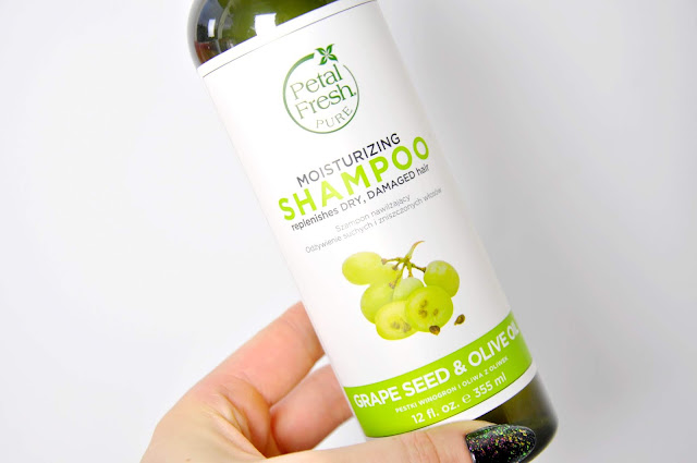 szampon petal fresh moisturizing shampoo grape seed&olive oil