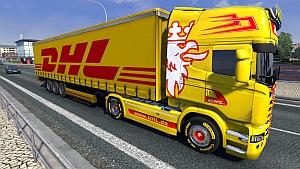DHL trailer mod