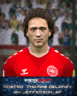 PES 2017 Faces Thomas Delaney by FaceEditor Jefferson_SF