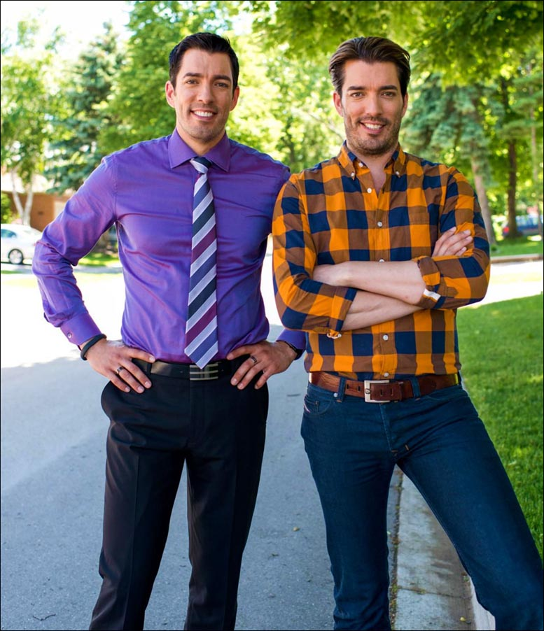 Jonathan And Drew Scott Are Very Tall Here Is Their Height In Feet