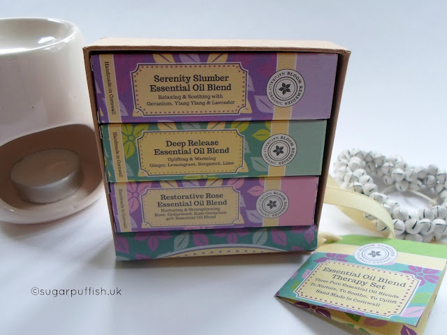 Bloom Remedies Essential Oil Blend Therapy Set