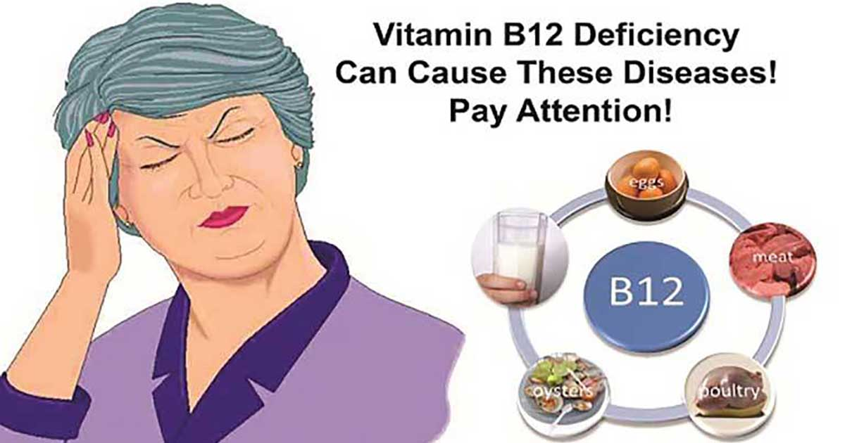 what are signs of b12 deficiency