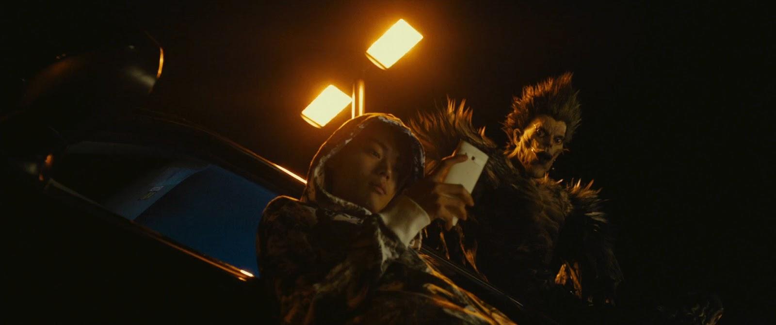 Death Note Light Up the New World (2016) HD 1080p Japones Sub Español captura 4