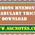 Barrons Mnemonics Vocabulary Tricks PDF Download