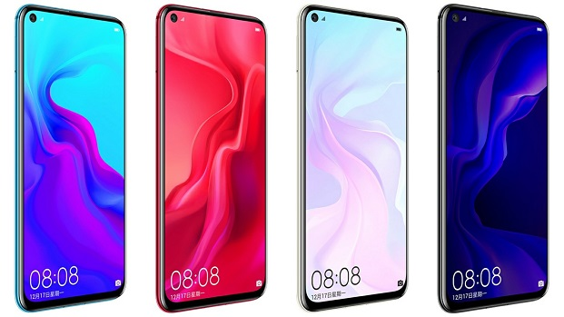 Huawei Nova 4 : Full Hardware Specs, Features, Prices and Availability