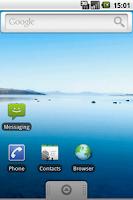 Screenshot Android 2.0 Eclair