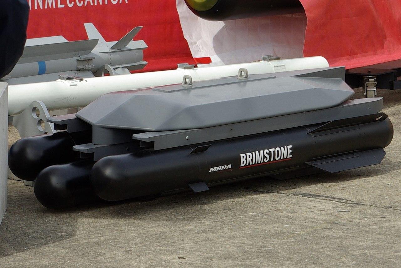 MBDA інтегрує ракети Brimstone у БпАК  Protector RG Mk.1