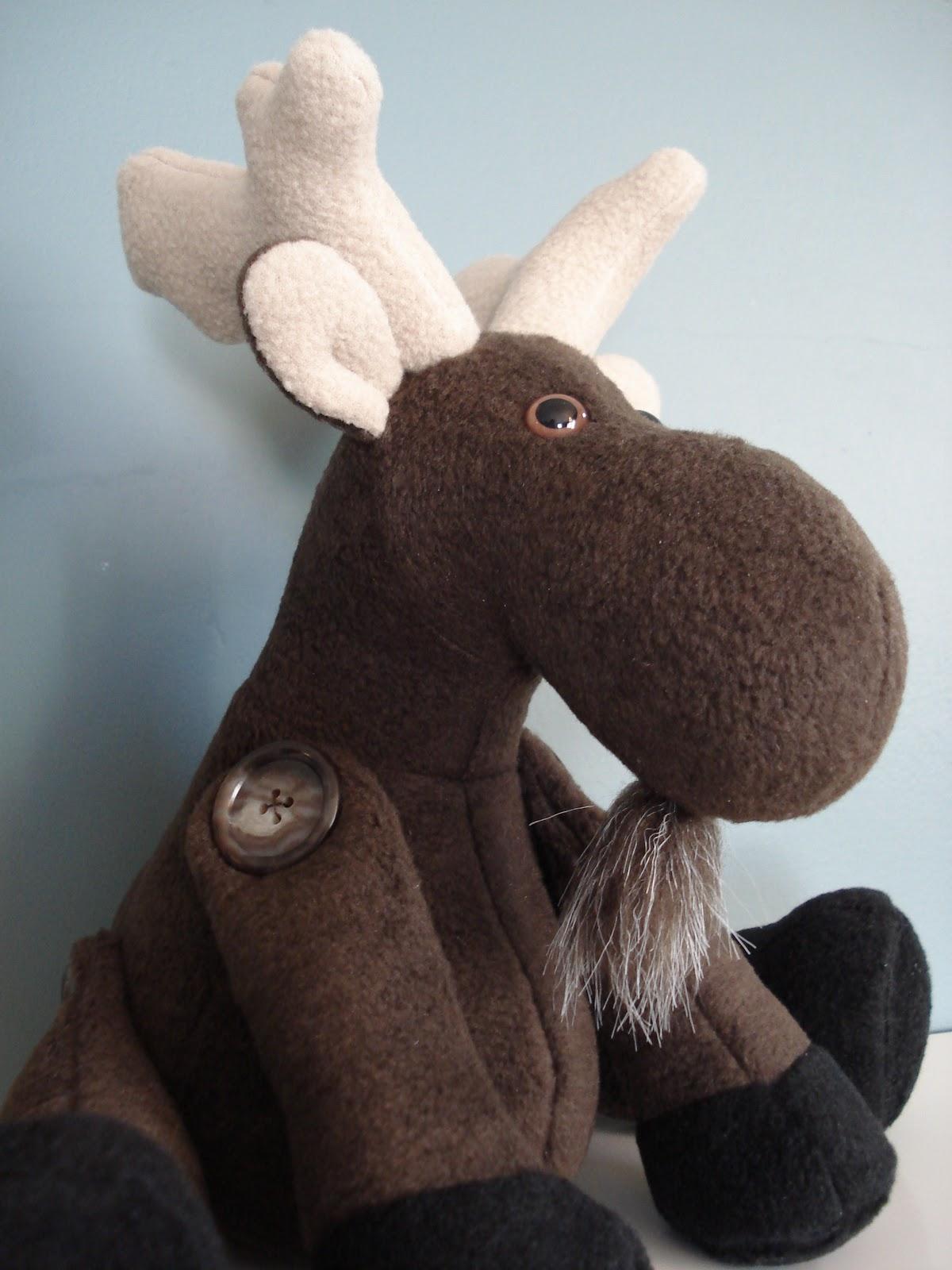 Fleece Menagerie Moose Named Jameel Sold