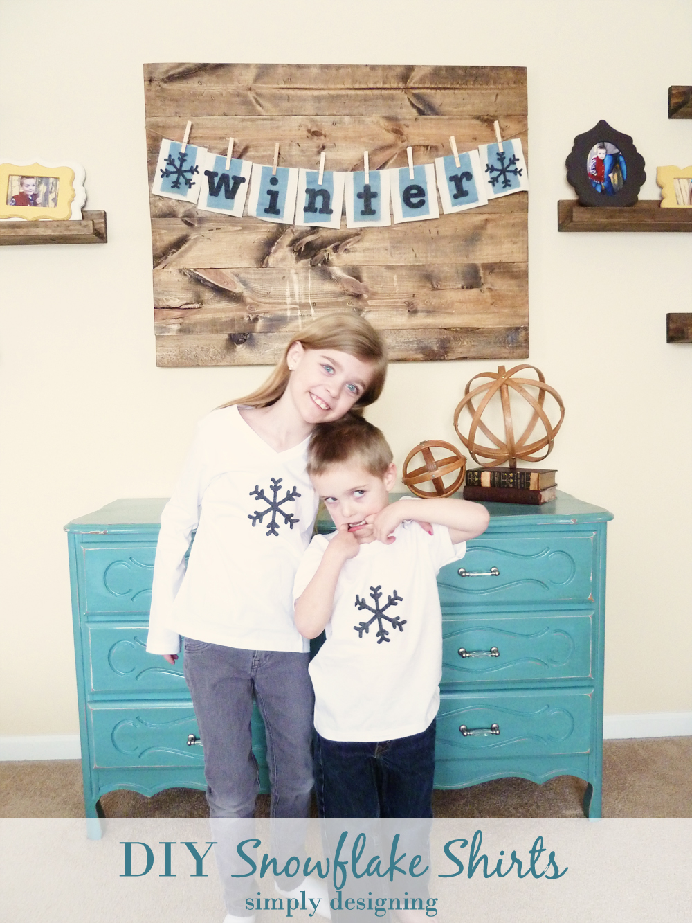diy+snowflake+shirts Snowflake Shirt 5