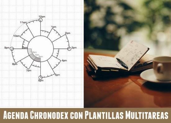 chronodex, journal, sistemas, agendas, cuadernos, organizar