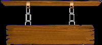 Placa de madeira png