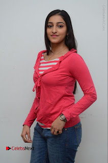 Telugu Actress Mouryani Latest Pos in Blue Denim Jeans  0010.JPG