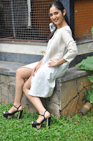 Radhika Cute Young New Actress in White Long Transparent Kurta ~  Exclusive Celebrities Galleries 030.JPG