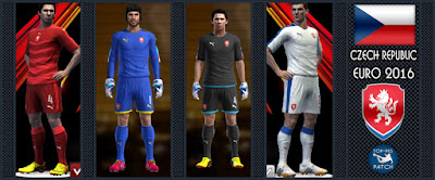 PES 2013 Czech Republic EURO 2016 Kits by Radymir