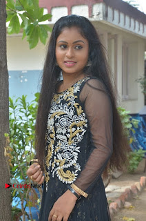 Tamil Actress Shreya Sri Stills in Black Akarkali Dress at Vanga Vanga Team Interview  0016.jpg
