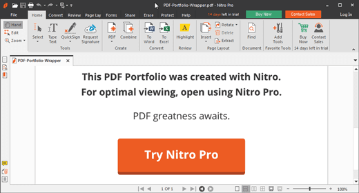 Nitro Pro 12 Productivity Suite