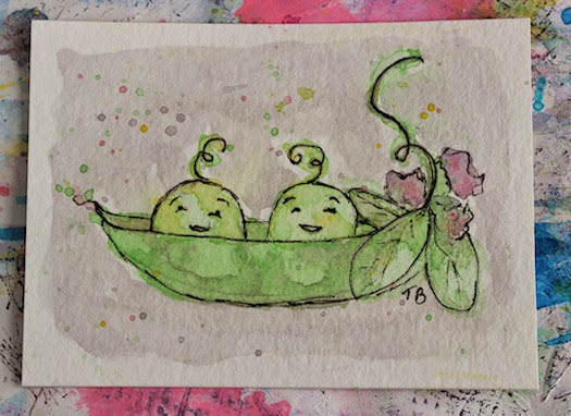 Two Peas in A Pod by Tori Beveridge 2014