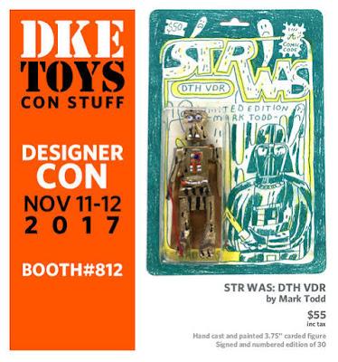 Designer Con 2017 Exclusive STR WAS DTH VDR Resin Figure by Mark Todd x DKE Toys