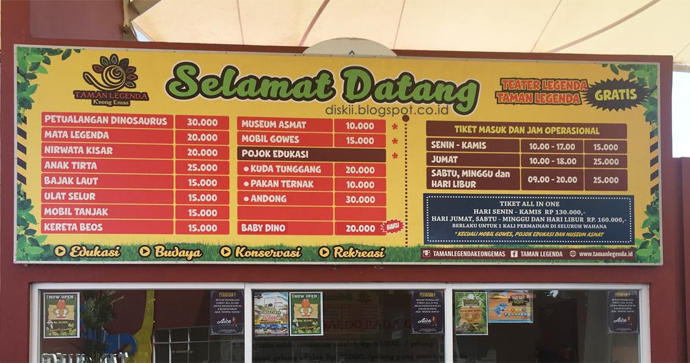 Weekend Petualangan Dinosarus Taman Mini Indonesia Indah Diski
