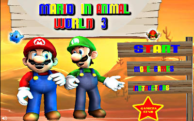 Mario in Animal World 3 - Jeu de Plateforme sur PC