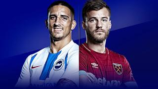اون لاين مشاهدة مباراة وست هام يونايتد وبرايتون بث مباشر 5-10-2018 الدوري الانجليزي اليوم بدون تقطيع