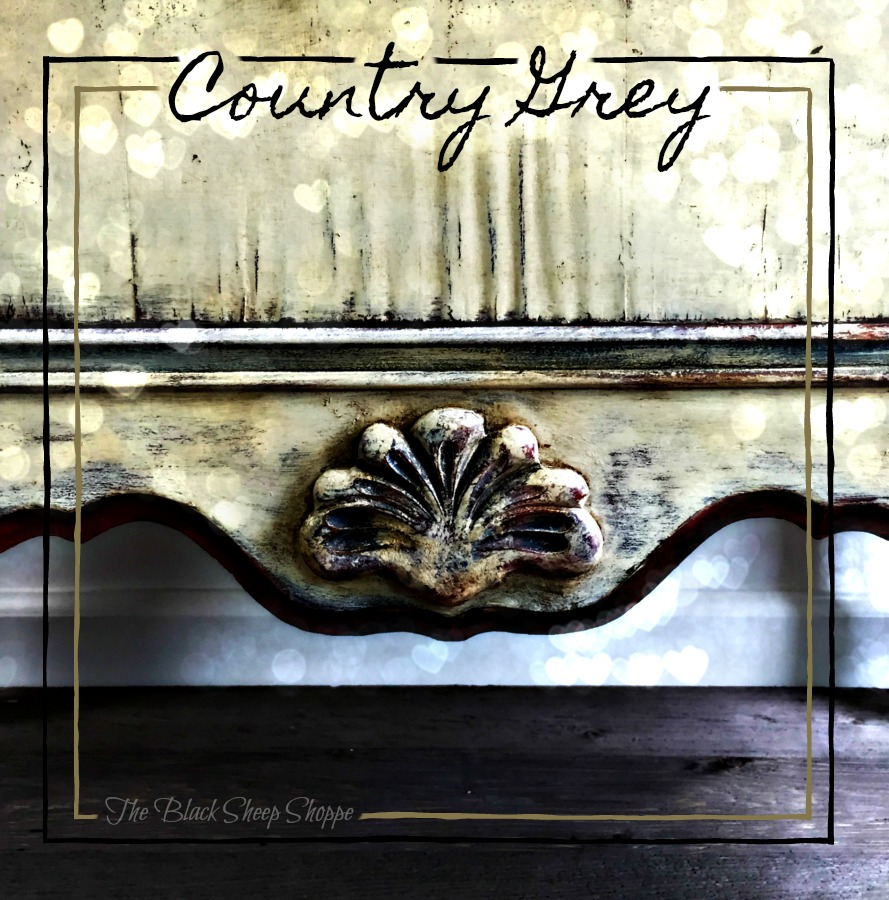 Country Grey chalk paint.