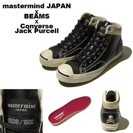 d95808562de527 Unofficial Jack Purcell  Jack Purcell x Mastermind Japan x Beams ...