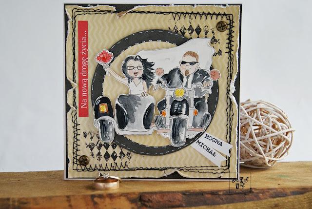 1614. Ślubnie na motorze
