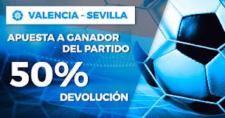Paston Promoción Liga Santander: Valencia vs Sevilla 21 octubre