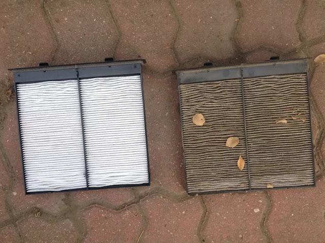 comment changer un filtre à air de cabine