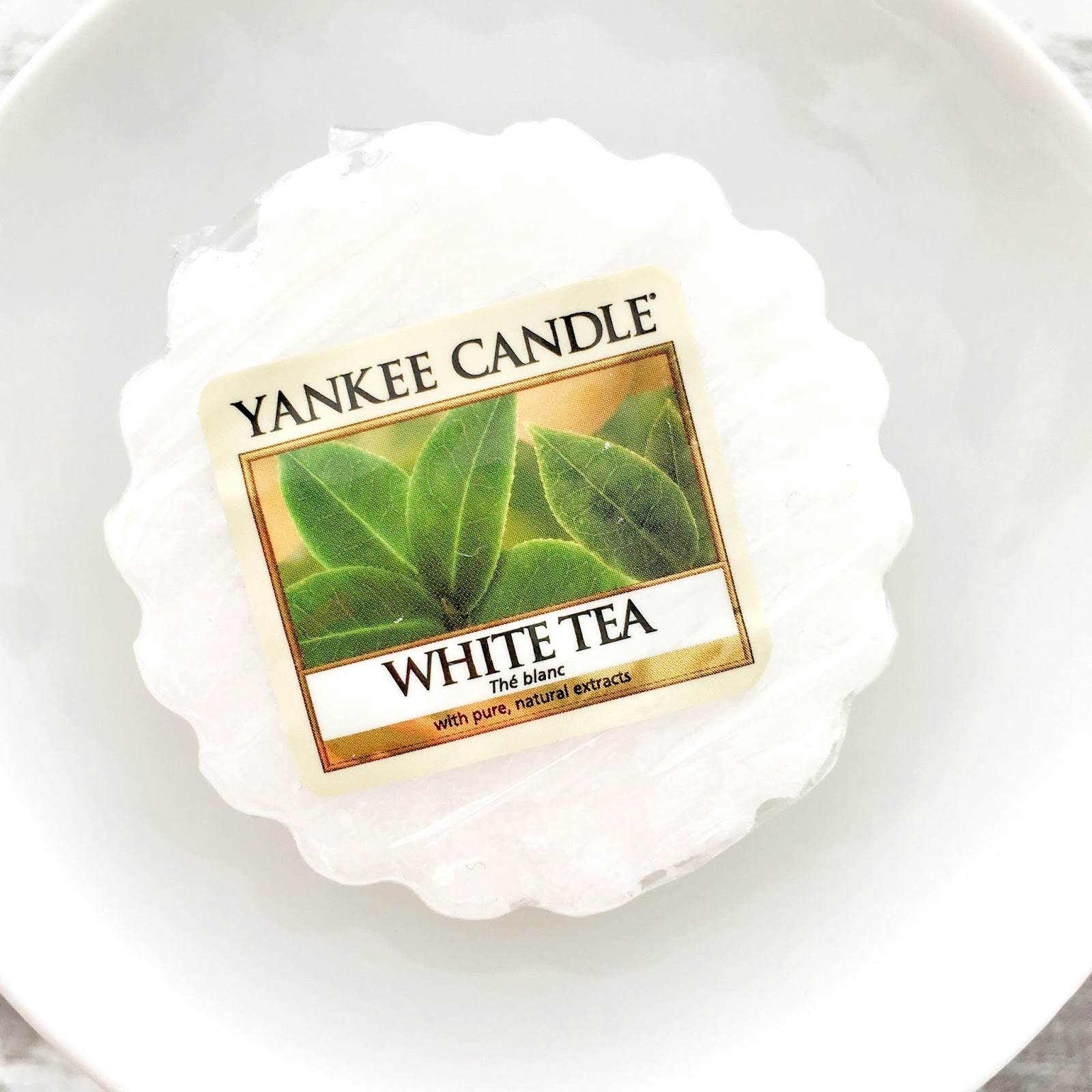 White Tea Yankee Candle