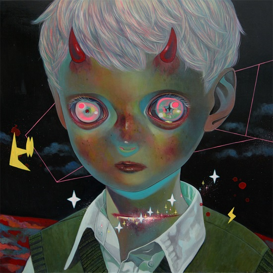 "obras de arte, pintura, pop art, cool pictures, imagenes tristes | ""Whereabouts of God #30"" by Hikari Shimoda"