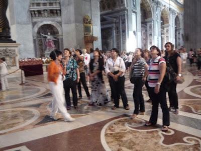 P1070600 - Visita guiada aos Museus Vaticanos, Capela Sistina e Basilica de S. Pedro com guia particular