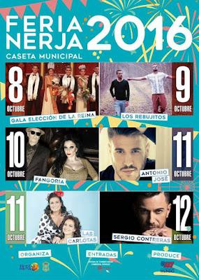Feria de Nerja 2016 -  Actuaciones en la Caseta Municipal