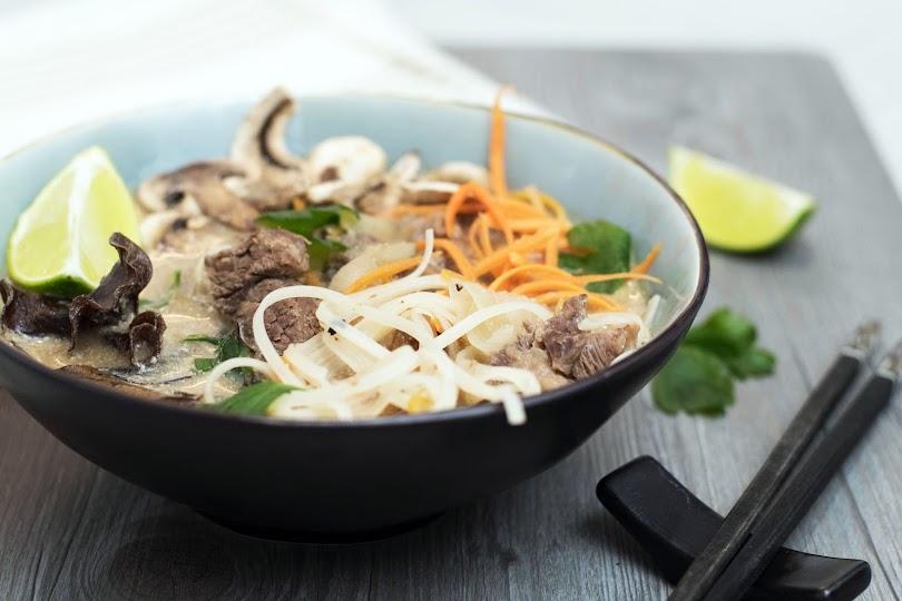 recette Bouillon bœuf curry tamarin