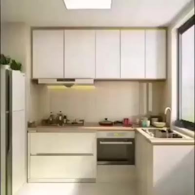 Dapur Cantik Minimalis Sederhana kecil