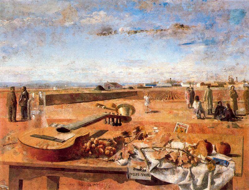 Pinturas de varias pocas mesa cerca de tomelloso antonio for Natural burguer mesa y lopez
