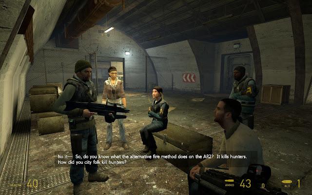 تحميل لعبة هاف لايف half life 2 كاملة للكمبيوتر برابط مباشر ميديا فاير