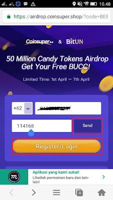 Cara Mendapatkan Bucc Tokens Airdrop Gratis dari Coin Super