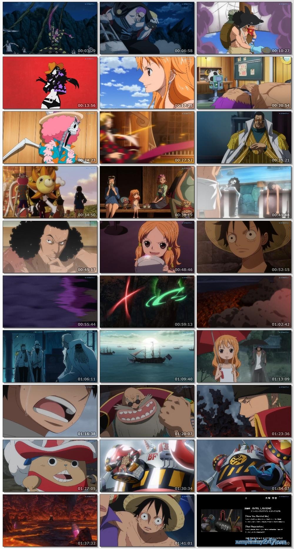 http://xemphimhay247.com - Xem phim hay 247 - Đảo Hải Tặc: Z - Kỳ Phùng Địch Thủ (2012) - One Piece Film: Z (2012)