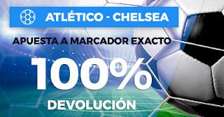 Paston Promoción 50 euros Champions Atlético vs Chelsea 27 septiembre